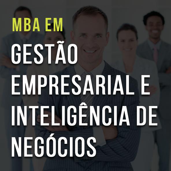 MBA em Gestão Empresarial e Inteligência de Negócios
