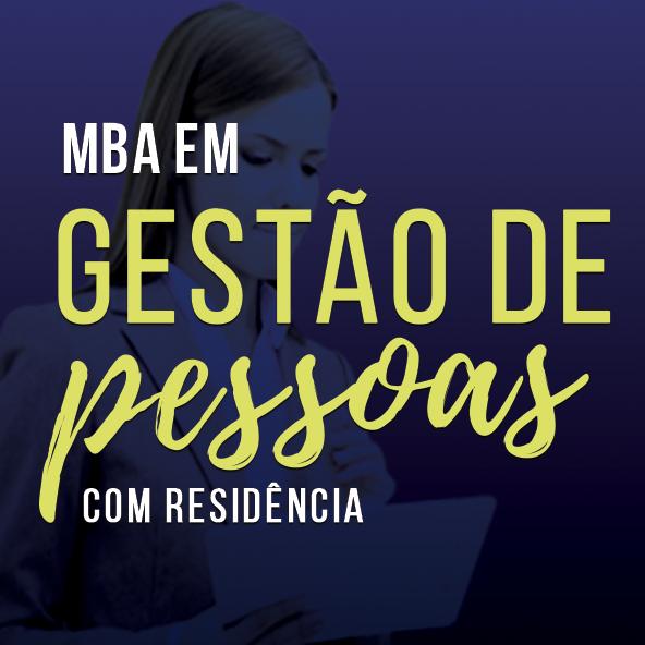 MBA em Gestão de Pessoas com Residência