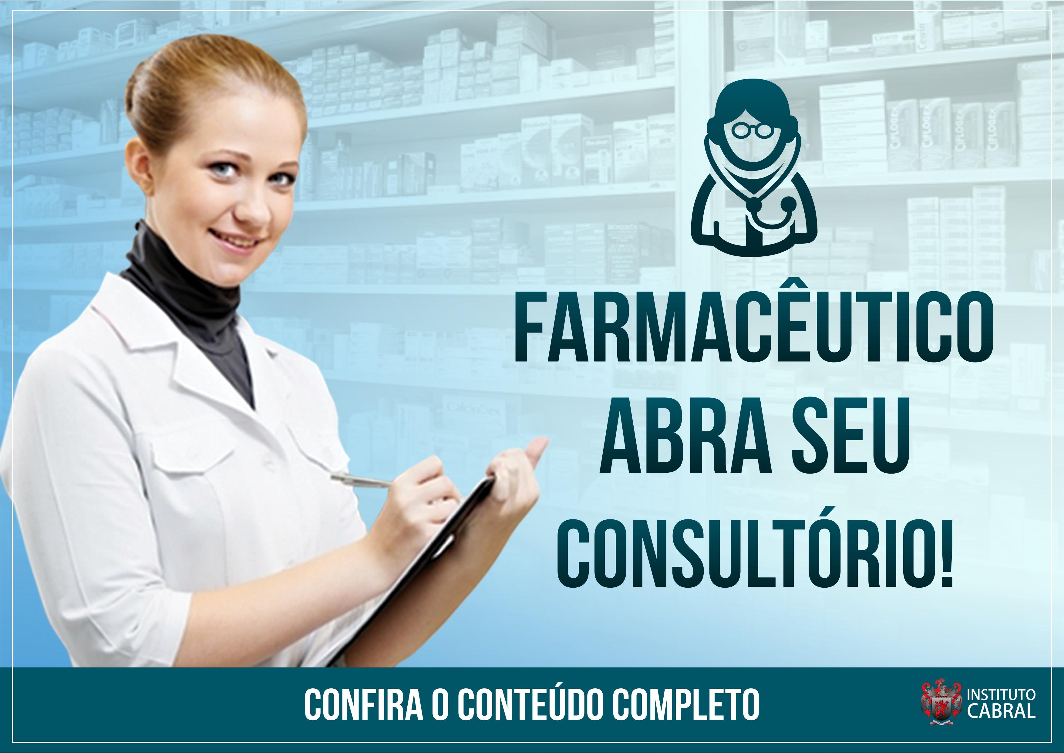 Farmacêutico abra seu consultório!