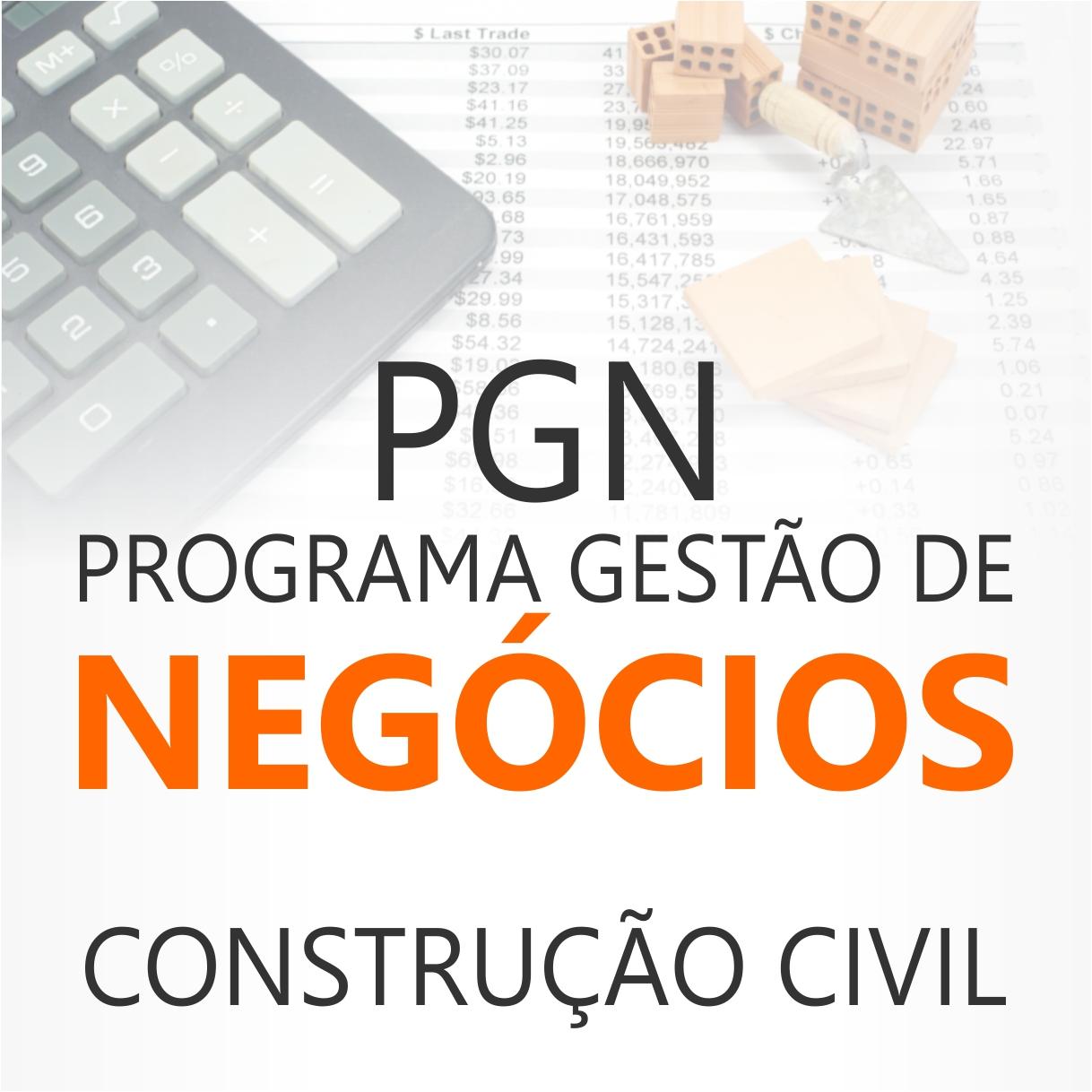 CURSOS DE EXTENSÃO - PGN CONSTRUÇÃO CIVIL