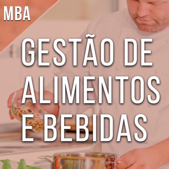 MBA em Gestão de Alimentos e Bebidas